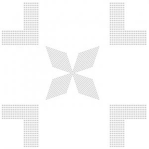 A-06(银色四棱四角)